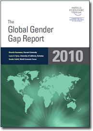 Global Gender Gap report cover