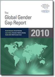 Global Gender Gap report cover